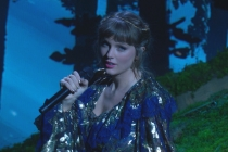Taylor Swift Performs Dreamy Folklore, Evermore Medley at Grammys -- Watch