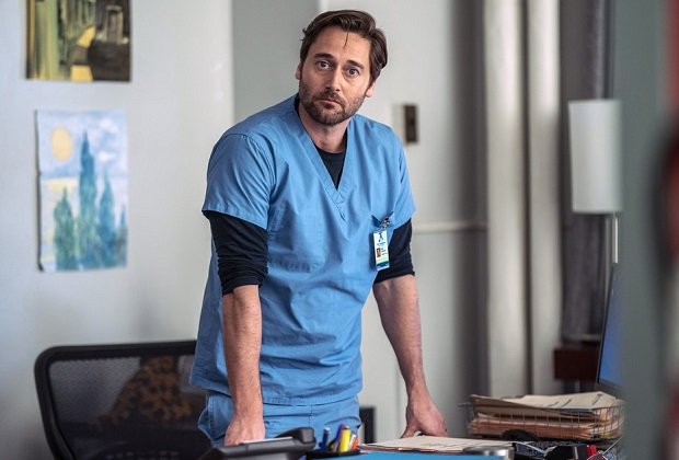 "NEW AMSTERDAM -- ""Matter of Seconds"" Episode 219 -- Pictured: Ryan Eggold as Dr. Max Goodwin -- (Photo by: Zach Dilgard/NBC)"