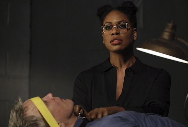 "THE BLACKLIST -- ""Dr. Laken Perillos (#70)"" Episode 810 -- Pictured: Laverne Cox as Dr. Laken Perillos -- (Photo by: Will Hart/NBC)"
