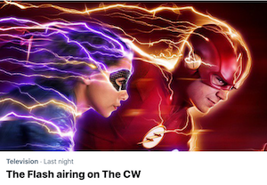 The Flash Trending Twitter