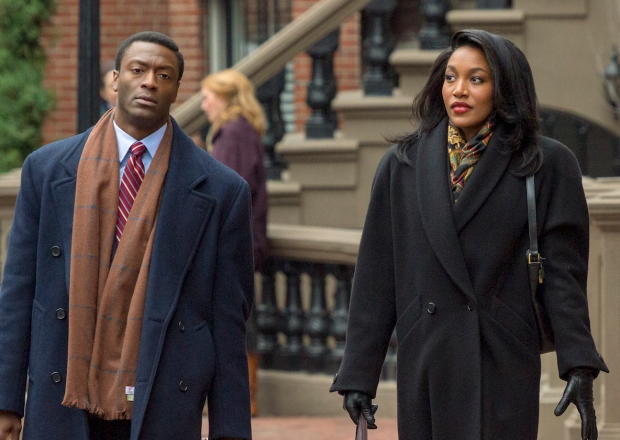 City on a Hill Stars Aldis Hodge and Lauren E. Banks Break Down Decourcy and Siobhan's Cough Syrup Standoff