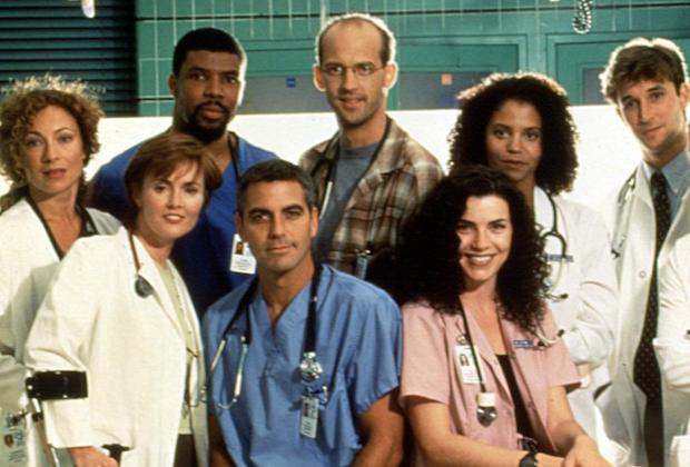 'ER' Season 4 Cast Photo