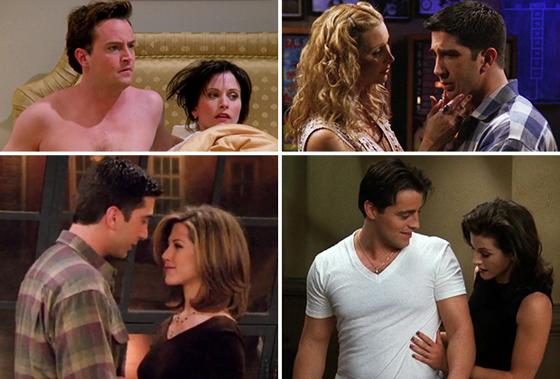 Friends Couples Ranked