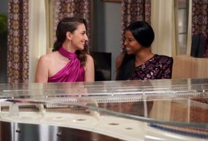 Girls5 eva Peacock Episode 2 Sara Bareilles Renee Elise Goldsberry