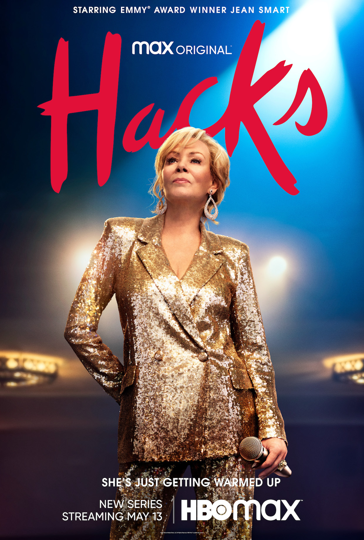Jean Smart 'Hacks' HBO Max Comedy Poster