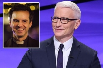 Jeopardy! Video: Anderson Cooper Scolds All 3 Contestants for Failing to Identify Fleabag's 'Hot Priest'