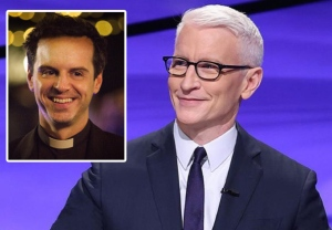 Anderson Cooper Jeopardy Hot Priest