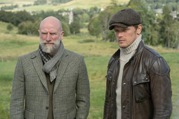 Men in Kilts Finale Recap: Sam and Graham Make a Somber Return to the Site of Outlander's Deadliest Episode