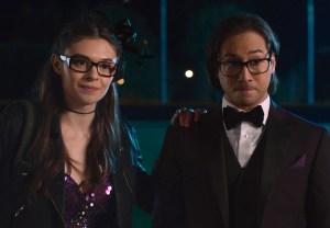 Nicole Maines and Jesse Rath in Supergirl Season 6