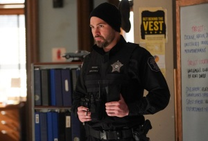 Patrick John Flueger in Chicago P.D. Season 8 Finale