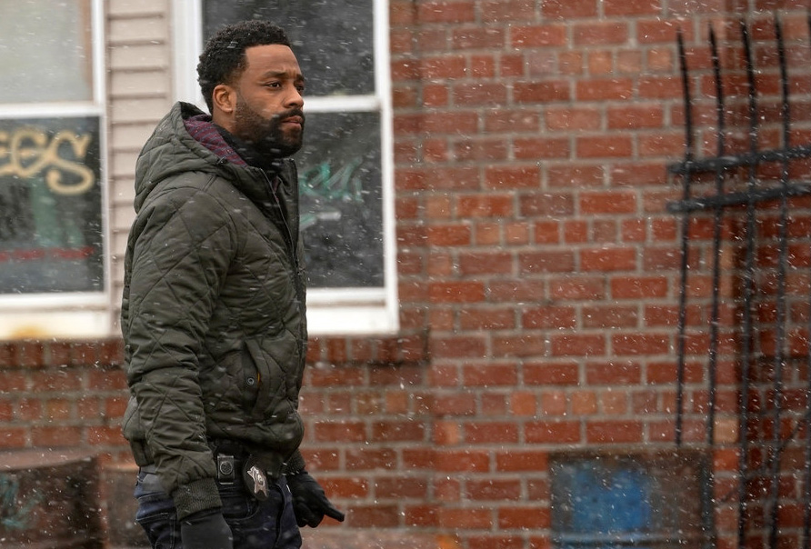 "CHICAGO P.D. -- ""The Right Thing"" Episode 815 -- Pictured: LaRoyce Hawkins as Kevin Atwater -- (Photo by: Lori Allen/NBC)"