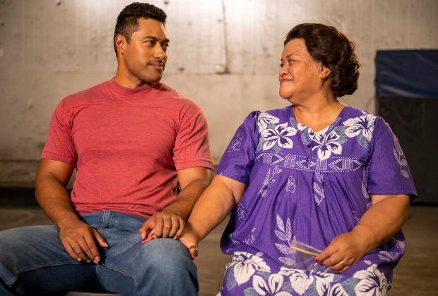 Young Rock Uli Latukefu and Ana Tuisila