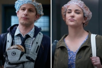 'B99' Season 8 Teaser Follows New Parents Jake and Amy Back to Work