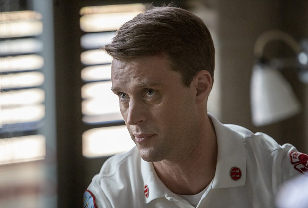 "CHICAGO FIRE -- ""Double Red"" Episode 909 -- Pictured: Jesse Spencer as Matthew Casey -- (Photo by: Adrian S. Burrows Sr./NBC)"
