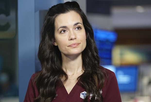 "CHICAGO MED -- ""Better Is The New Enemy Of Good"" Episode 607 -- Pictured: Torrey DeVitto as Natalie Manning -- (Photo by: Elizabeth Sisson/NBC)"