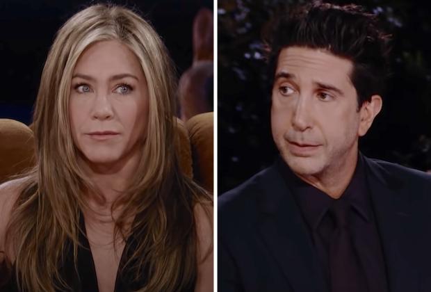 Friends Reunion: Ross/Rachel — Jennifer Aniston, David Schwimmer Romance |  TVLine