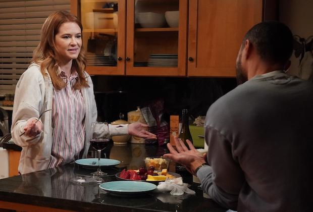 Grey's Anatomy 17x14 Sarah Drew as April
