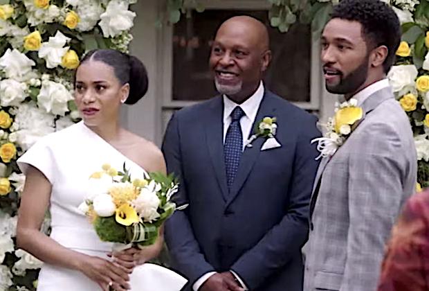 greys anatomy recap season 17 episode 17 amelia link break up maggie winston wedding