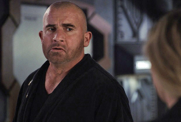 "Legends of Tomorrow -- ""The Ex-Factor"" -- Image Number: LGN603fg_0030r.jpg -- Pictured: Dominic Purcell as Mick Rory/Heat Wave -- Photo: The CW -- © 2021 The CW Network, LLC. All Rights Reserved."