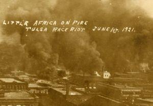 Tulsa Burning postcard