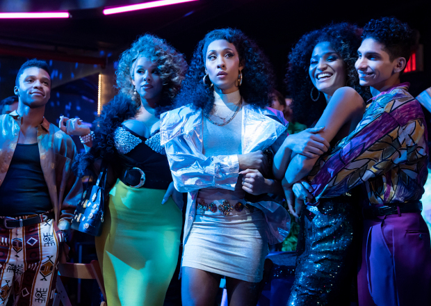 "POSE -- ""On The Run"" -- Season 3, Episode 1 (Airs May 2) Pictured (l-r): Dyllón Burnside as Ricky, Hailie Sahar as Lulu, Mj Rodriguez as Blanca, Indya Moore as Angel, Angel Bismark Curiel as Lil Papi. CR: Eric Liebowitz/FX"