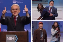 SNL Video: Dr. Fauci and the CDC Poorly Demonstrate New Mask Guidelines
