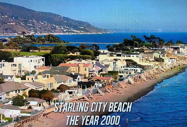 The Flash Starling City Beach