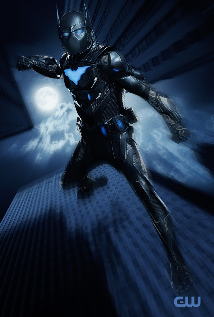 Camrus Johnson as Batwing in Batwoman Season 2