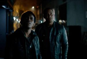 Camrus Johnson and David Ramsey in Batwoman Season 2