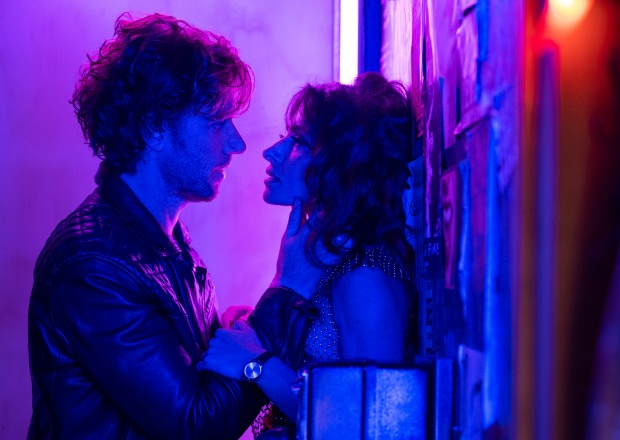 Sarah Shahi and Adam Demos in Netflix's Sex/Life