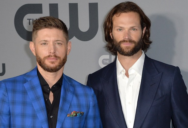 Jared Padalecki, Jensen Ackles, Misha Collins at arrivals for The CW Network 2019 New York Upfront, New York City Center, New York, NY May 16, 2019. Photo By: Kristin Callahan/Everett Collection