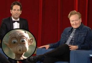 Conan, Paul Rudd - Mac and Me