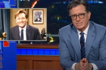 Late-Night Hosts Pay Tribute to Conan: Colbert Tips His Hat to a 'Dear Friend,' Kimmel Congratulates Jay Leno