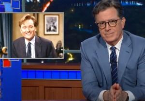 Stephen Colbert's Conan O'Brien Tribute Video