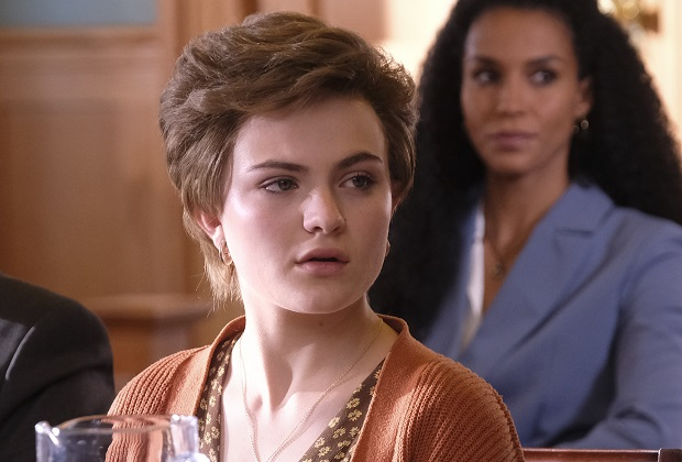 """CRUEL SUMMER - """"Hostile Witness"""" - Kate and Jeanette's worlds collide as the court date arrives, finally forcing the two young women to answer the question on everyone's mind, but the answer comes with a price that not everyone can pay. The season finale of """"Cruel Summer"""" airs Tuesday, June 15 at 10:00 p.m. on Freeform. (Freeform/Bill Matlock) CHIARA AURELIA"""