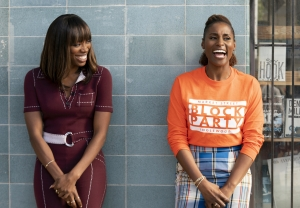 Insecure HBO Photos Final Day Shooting