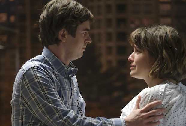 The good doctor 4x16 - Sean and Lea suffer from miscarriage