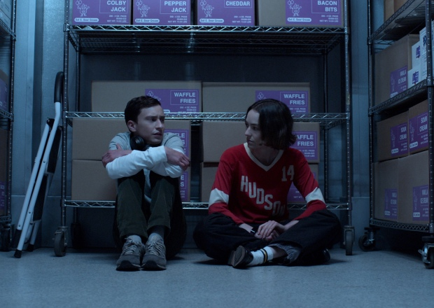 Keir Gilchrist and Brigette Lundy-Paine in Atypical Season 4