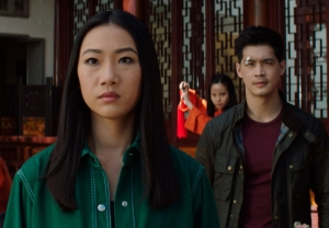 Olivia Liang and Eddie Liu in Kung Fu Season 1