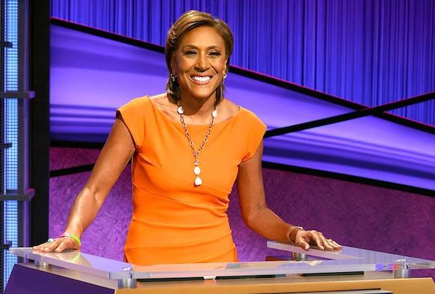 Robin Roberts Jeopardy Host