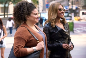 Michelle Buteau and Ryan Michelle Bathé in First Wives Club