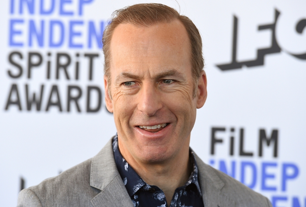 Bob Odenkirk arrives at the 35th Film Independent Spirit Awards on Saturday, Feb. 8, 2020, in Santa Monica, Calif. (Photo by Jordan Strauss/Invision/AP)