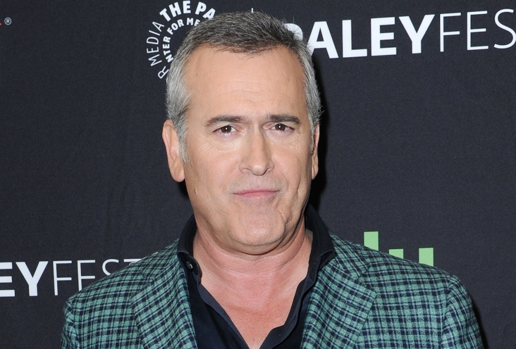"""Bruce Campbell attends the """"Ash vs Evil Dead"""" screening and panel discussion at the 2016 PaleyFest Fall TV Previews on Wednesday, Sept. 14, 2016, in Beverly Hills, Calif. (Photo by Richard Shotwell/Invision/AP)"""