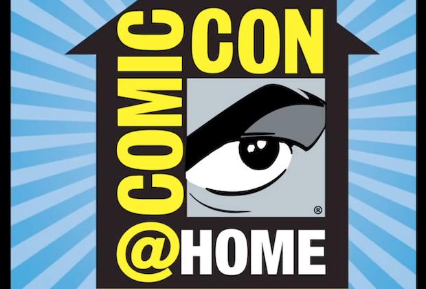 Comic-Con @ Home Logo