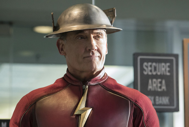 """The Flash -- """"The Present"""" -- Image FLA309a_0182b.jpg -- Pictured: John Wesley Shipp as Jay Garrick -- Photo: Katie Yu/The CW -- © 2016 The CW Network, LLC. All rights reserved."""