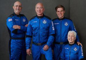 Jeff Bezos Space New Shepard