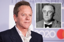 Kiefer Sutherland Joins Showtime's First Lady as President Roosevelt, Opposite Gillian Anderson's Eleanor