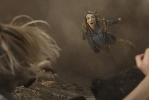La Brea: Natalie Zea Plunges Into a Primeval World in NBC Drama Promo