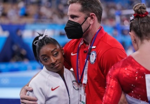 Simone Biles Olympics Mental