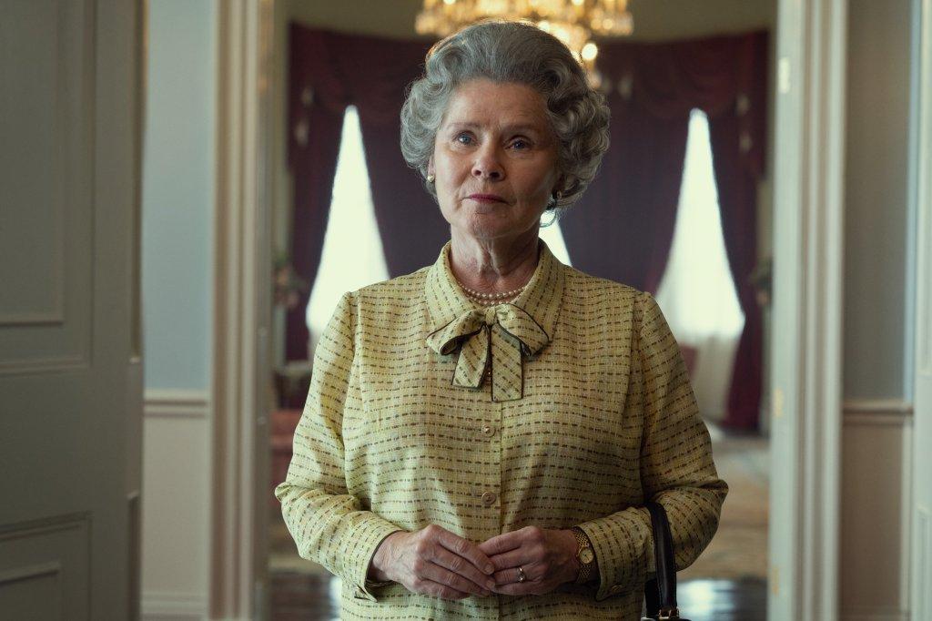 The Crown First Look: Imelda Staunton Reigns as New Queen Elizabeth II